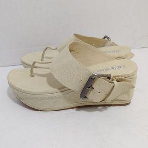 Vera Wang platform sandals
